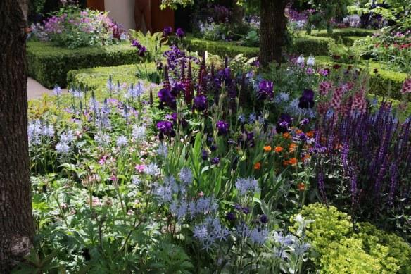 Chelsea Flower Show 2015 woodland garden. Photo Fiona Ericsson