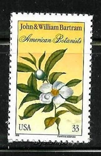 Franklinia stamp