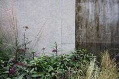 Wall detail in The Tea Garden Design Ross Uebergang Japan World Flower and Garden Show 2015