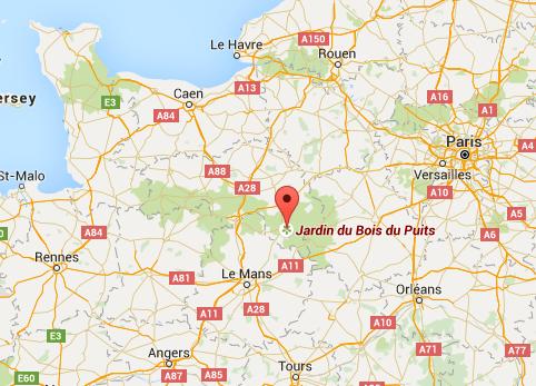 Location Jardin du Bois du Puits