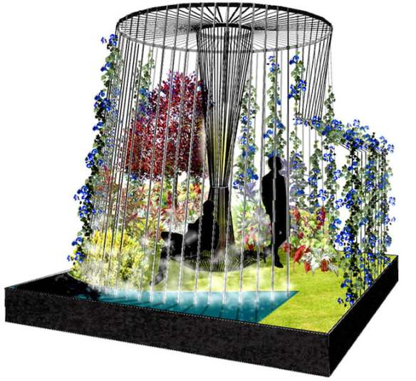 R(h)ope Boutique garden for MIFGS 2016 Design Gardenridge 3D render