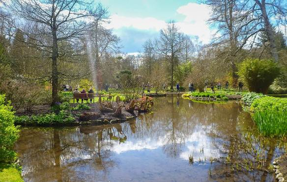 Space and calm despite numerous other visitors. Longstock Park Water Garden, Hampshire