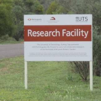 Research is ongoing at the Australian Arid Lands Botanic Garden
