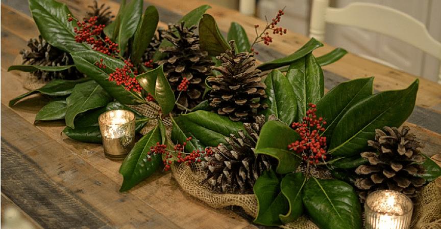Consejos para hacer tu propio centro de mesa en navidad - Preparar mesa navidad ...