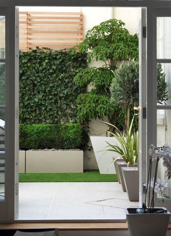 Ideas decoracion vallas jardin 13