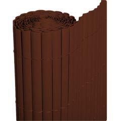 Cañizo-PVC-marrón-decoración-exterior
