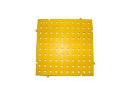 placa de pvc de color amarillo