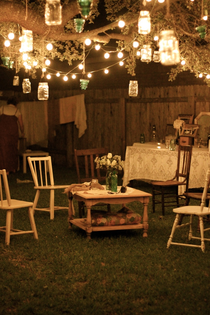 Low Budget Garden Party Decorations  Ideas for Garden Backyard and space around the house