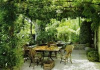 An Italian patio for an Italian themed garden - Ideas for ...