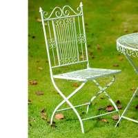 Old Rectory Green Folding Chair - Garden Features - Garden ...