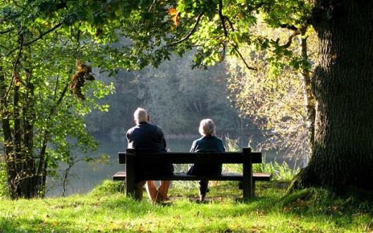 Elderly Couple, Grandparents