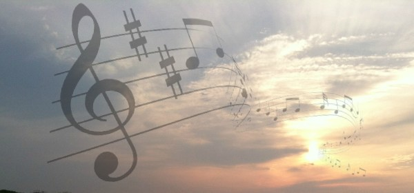 music, sunrise
