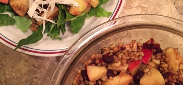 Wheat Berry and Apple Salad, Cooking with Grains, Wheat Berry