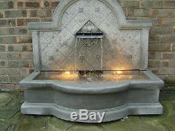 garden fountains water