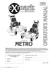 Exmark Metro 36 Parts Manual
