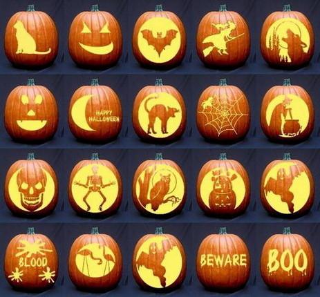 Pumpkin Carving Examples