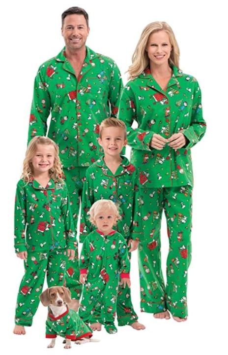 PajamaGram Family Christmas Pajamas Soft