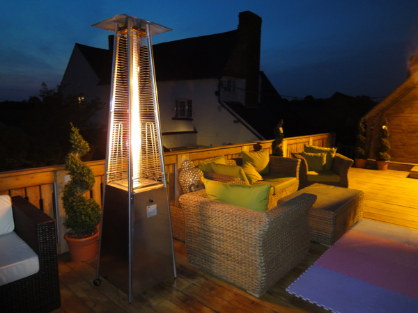 Outdoor Gas Fireplace Table Patio Heaters For Warmer Alfresco Dining | 01564 793652