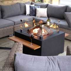 Replacement Garden Sofa Cushions Contemporary Slipcover Happy Cocooning Square Gas Fire Pit