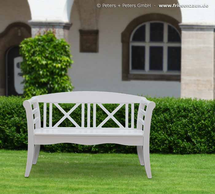 Gartenbank Holz Weiß Wooden Garden Benches And Garden Furniture, Painted White ...
