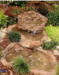 Small Backyard Waterfall Cascade Rock Pond, Artificial ...