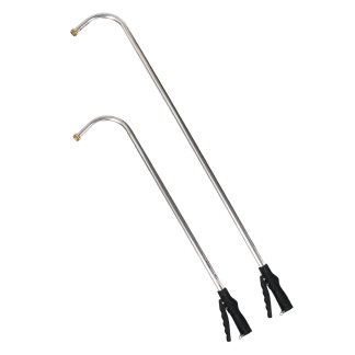 Hanging Basket Handles with Touch N Flow valve