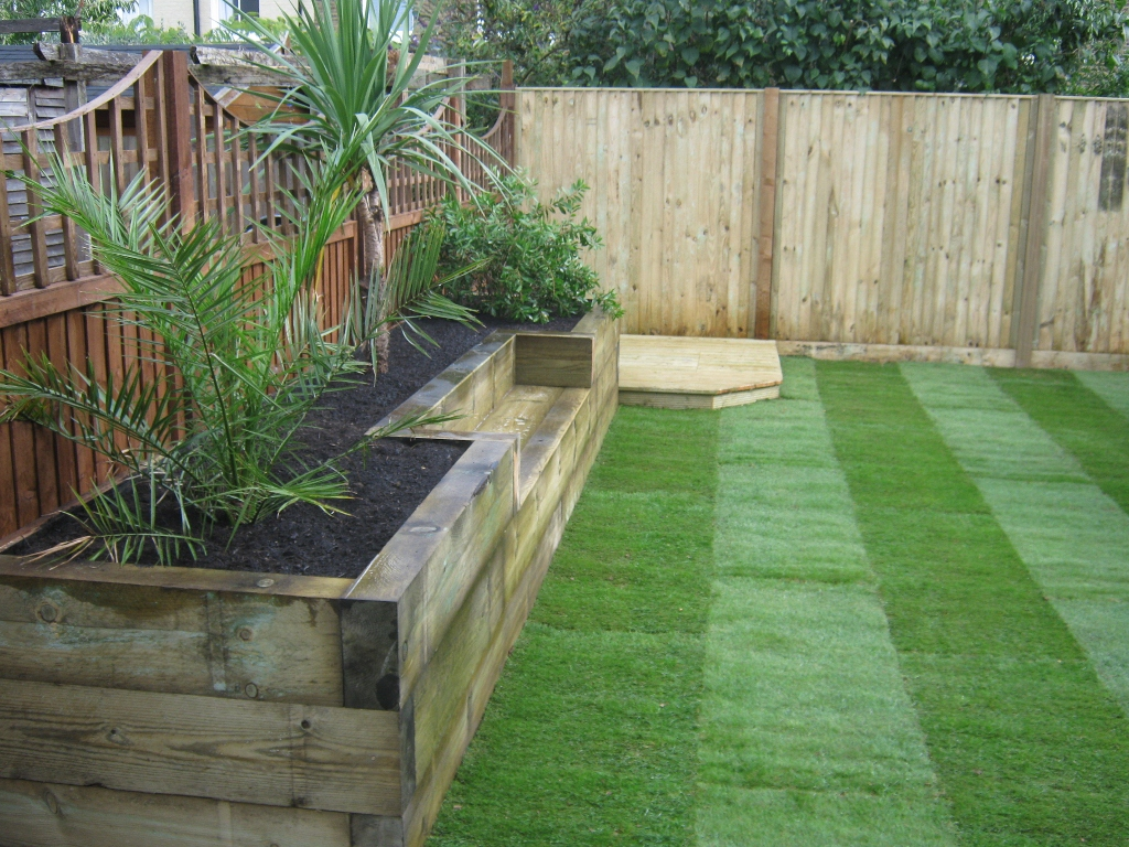 Railway Sleepers  Garden Gurus  Creative Landscape Construction