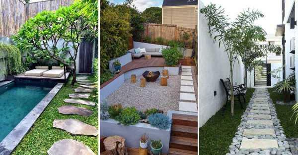 perfect small backyard & garden