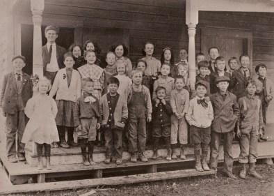 1911 Garden Home School, all grades