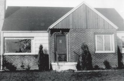 Gust Johnson home, 1940s