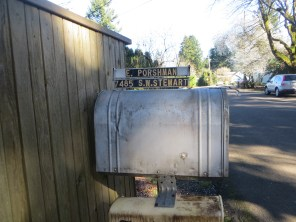 Porshman mail box