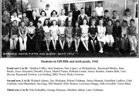 1943 Garden Home School, 5th and 6th grades