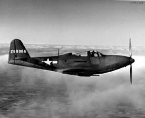 P-63 Kingcobra fighter plane