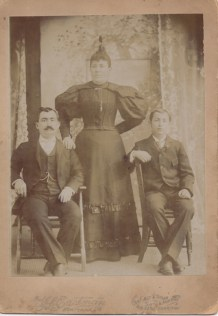 Morris, Fanny and Samuel Pallay