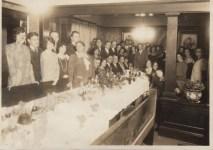 Fannie and Morris Pallay Golden Wedding anniversary celebration