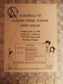 GHS 1982 Last Day - Farewell poster