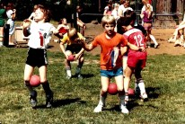 GHS 1982 Last Day - field day - kids, ribbons