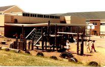 GHS 1982 Last Day - field day - Playground, kids