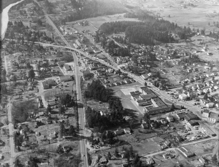 Multnomah Village - 1954 from the E