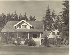 Arndt home on Garden Home Road, 1960s