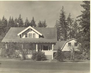 Arndt home on Garden Home Road, 1960s