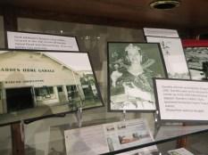 Washington County Museum display (March 2017)