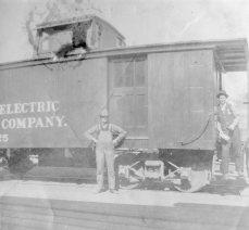 Oregon Electric - track construction 5