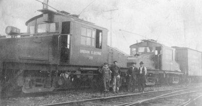 Oregon Electric - track construction 6
