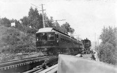 Oregon Electric - track construction
