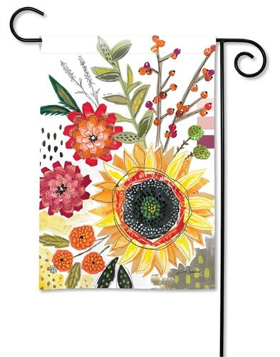 Sunflower Snippets Garden Flag Floral Flags Spring Flag Yard Flags