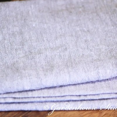 Rustic Linen Table Runner