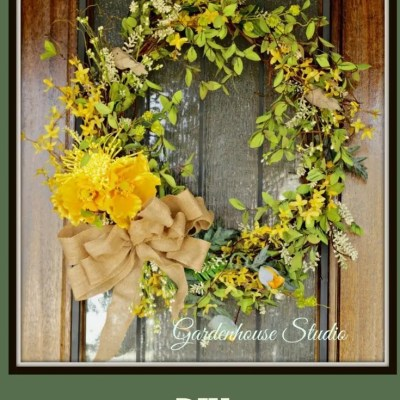 Spring Wreath Diy 2017