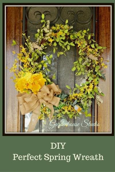 Spring Wreath Diy 2017