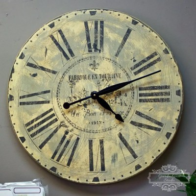 Fusion Mineral Paint Old World Clock DIY